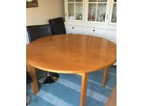 Very sturdy, quality dining room table - bargain!!!