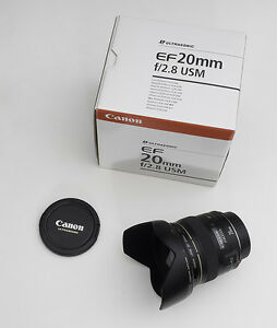 Canon Lens EF 20mm f/2.8