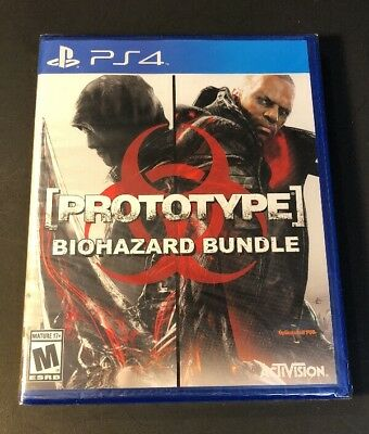 Prototype Biohazard Bundle [ 2 Games in 1 Pack ] (PS4) NEW