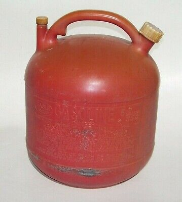 Eagle Pg-5 Gas Gasoline 5 Gallon Plastic Can Container Tank No Spout Vented