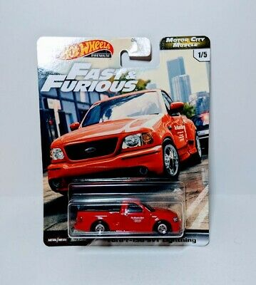 NEW 2020 Hot Wheels Fast And Furious Ford F-150 SVT Lightning Motor City Muscle