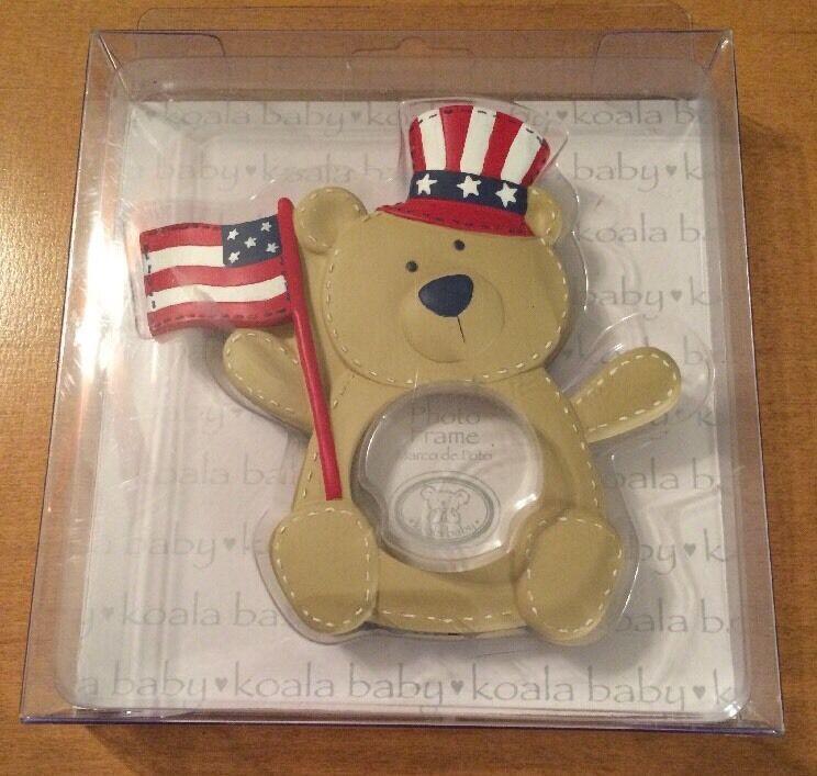 Koala Baby Patriotic Bear Photo Frame