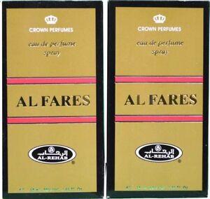 AL FARES BY AL REHAB-POPULAR ARABIAN SPRAY-ATTAR- PACK OF TWO VALUE PACK
