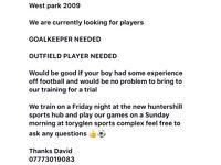 West park 2009 football club