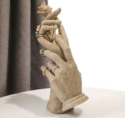 New Luxury Female Mannequin Rose Hand Women Arm Display Ring Glove Jewelry Model