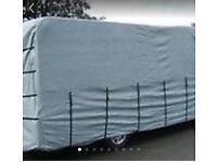Motorhome/caravan cover