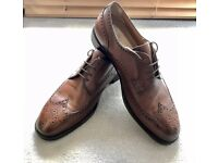 Brogues Leather Shoes Men's UK11