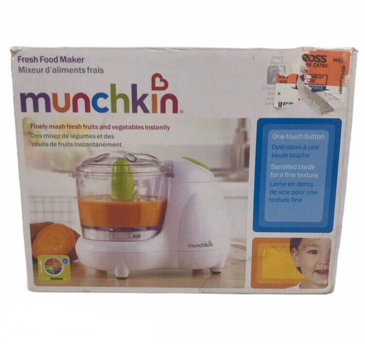 Munchin FRESH FOOD MAKER Finely Mash Fresh Fruits & Vegetables Instantly