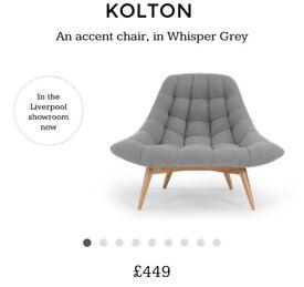 Made Kolton Chair in Kolton Grey