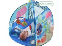 Baby sensory tent with lights