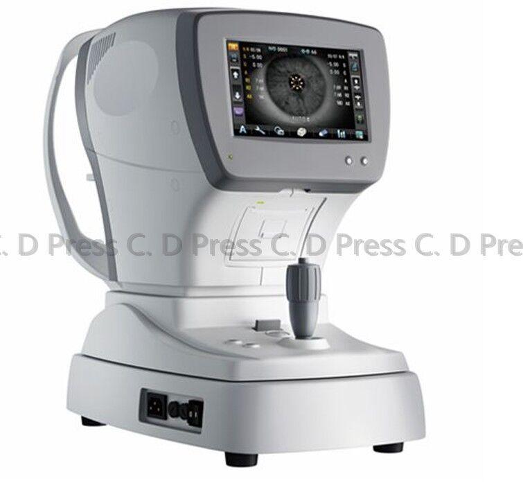 "Brand New 7"" Auto Refractor Keratometer Optical Refractometer With Keratometry"