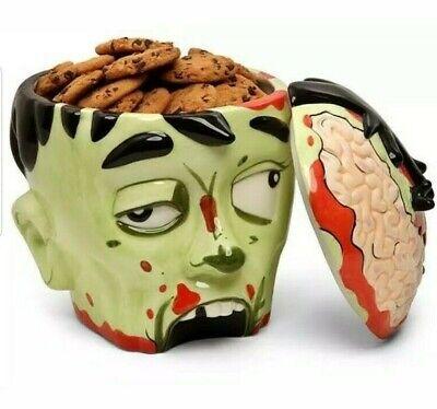 Zombie Head Cookie Jar 9