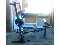 Marcy Weight Bench with attachments