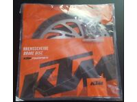 KTM Duke 390 2013-2016 Parts - Brake Disc, Seat, Exhaust, Open Airbox Cover