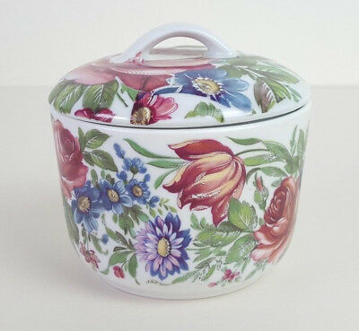 Vintage Bareuther West German Small Lidded Pot Jewellery Trinket Storage Jar