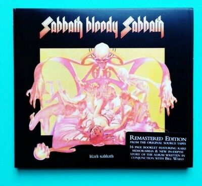 Black Sabbath - Sabbath Bloody Sabbath CD Digipack Heavy Metal Ozzy