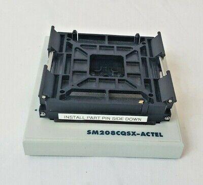 Microsemi Sm208cqsx-actel Programmer Chip Socket Adapter - Ecad