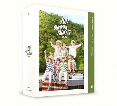2017 BTS SUMMER PACKAGE PHOTO BOOK+ MAKING DVD+ARMY FAN+STICKER
