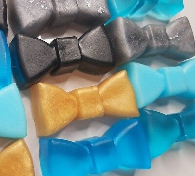 Bow Tie Baby Shower Party Favor Little Man Gender Reveal Gifts Scented 20 - Baby Shower Gifts For Men