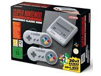 Super Nintendo (SNES) Mini Classic console - Brand New, Unopened