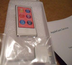 Ipod Nano 7th gen 16gb Silver with White Face (new)