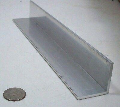 Aluminum Angle 6061 1 12 X 1 12 X 18 Wall X 9-38 Bracket Corner