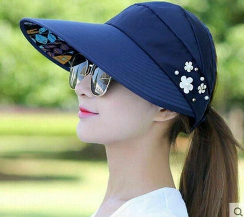 NEEDS Japan Fashion Collapsible Reversible UV hats UV 99/% Cut Hats Cap K296