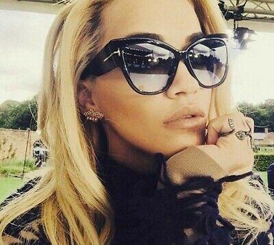 Big Frame Women Sunglasses 400UV Protection High Quality Wide Cat Eye Glasses ()