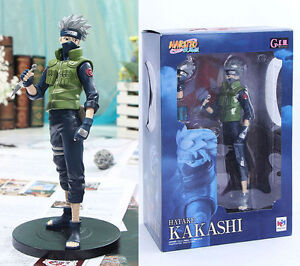 NEW-Naruto-Collectors-Figure-Kakashi-Hatake-8-25-21cm-tall-New-in-box