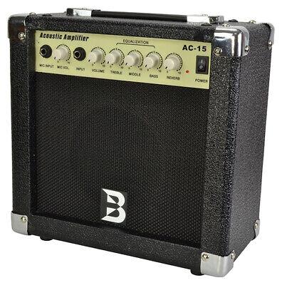 Compact 15 Watt Acoustic Guitar Amplifier by Bryce