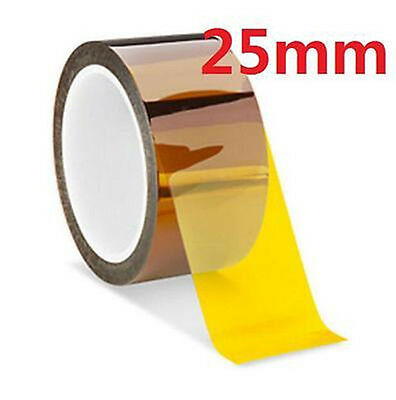 Dz935 25mm 100ft Kapton Tape Bga High Temperature Heat Resistant Polyimide Gold