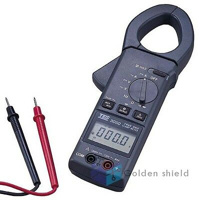 Tes-3050 Trms Acdc Clamp Meter Peak Hold Measurement