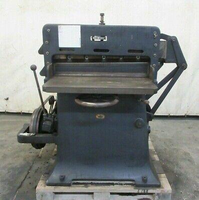 Americian Type Founders Paper Cutting Machine 35 Cut 2hp Dayton Motor