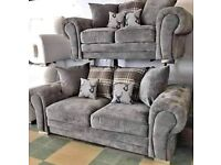 BRAND NEW COUCH SMALL VERONA FABRIC CORNER/3+2 SEATER SOFA SET AVAILABLE