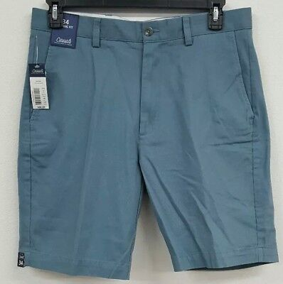 Roundtree & Yorke Casuals Vintage Blue Flat Front Men's Shorts NWT $30 Choose (Flat Front Vintage Shorts)