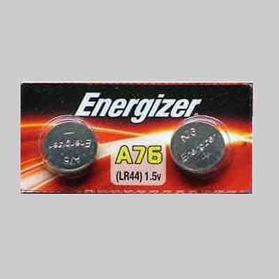 NEW LR44 ENERGIZER A76 AG13 357 SR44 303 BATTERY X 2