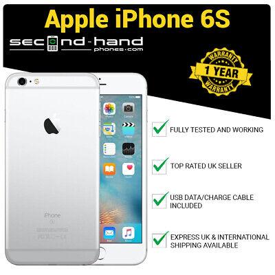 Apple iPhone 6s 64GB Silver (Unlocked/SIM FREE) 12M Warranty Grade A Excellent