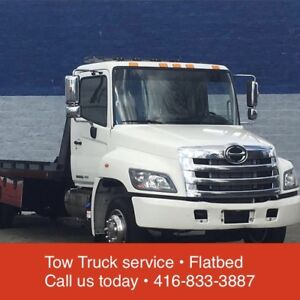 24/7 Roadside Service • Tow Truck Flatbed • 416-833-3887