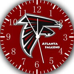 Atlanta Falcons Frameless Borderless Wall Clock For Gifts or Home Decor E196