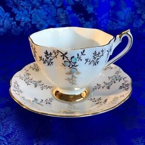 Beautiful Vintage English Teacups & Saucers for Mothers' Day