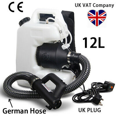 VAT Invoice UK ULV Cold Fogger Fogging Machine Disinfection Control Sprayer 12L