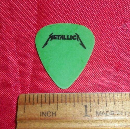 1996 Metallica James Hetfield Green Ninja Star Guitar Pick