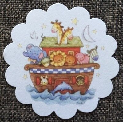 **60** Noah's Ark Theme Baby Shower Gift Tags Favor Tags Treat Tags](Noah's Ark Baby Shower Theme)