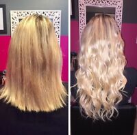 PERMANENT HAIR EXTENSIONS- Seamless Tape-In, Micro Bead/Fusion!