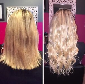 Hair extension installation services in mississauga peel permanent hair extensions seamless tape in micro beadfusion pmusecretfo Gallery