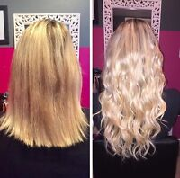 HAIR EXTENSIONS- Permanent and Clip Ins. Fusion, Tape in, Micro