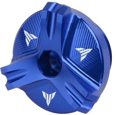 Tappo Olio Motore per Yamaha R1 R3 R6 YZF-R3 YZF-R6 YZF-R1 YZF-R25 blu
