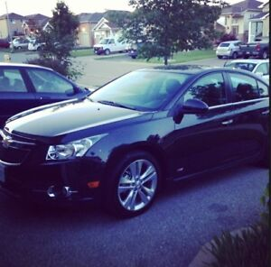 2013 Chevrolet Cruze LTZ with RS package