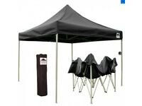 Easygazebos Black 3x3m HD PRO 30 (Heavy-Duty Pop-Ip Gazebo)