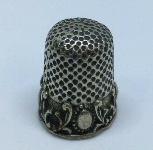 Thimble Silver Vintage Madrid Argent 925/1000